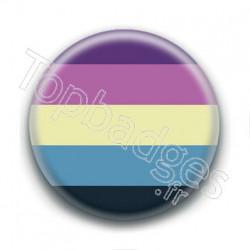 Badge : Drapeau aroace