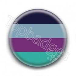 Badge : Drapeau bi aroace