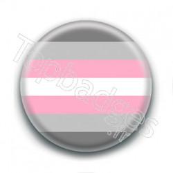 Badge : Drapeau demi-girl
