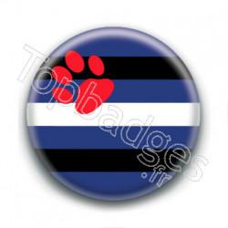 Badge : Drapeau puppy