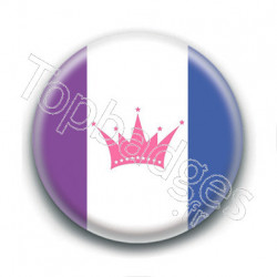 Badge : Drapeau drags