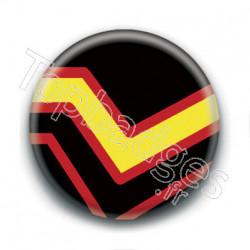 Badge : Drapeau latex