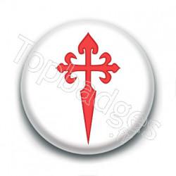 Badge : Croix de Saint Jacques