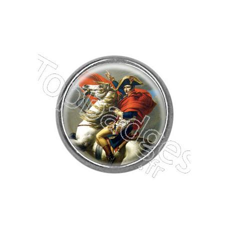Pins rond : Bonaparte franchissant le Grand-Saint-Bernard, Jacques-Louis David