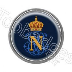 Pins rond : Sigle Napoléon Bonaparte