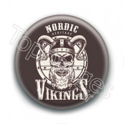 Badge : Nordic heritage, vikings