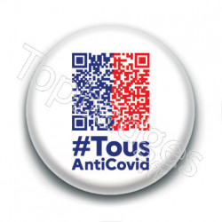 Badge : Tous anti Covid