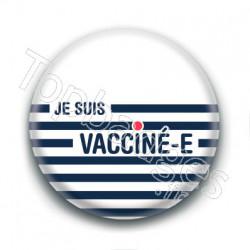 Badge : Je suis vacciné.e, marin