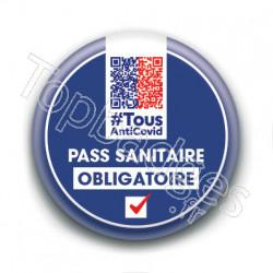 Badge : Pass sanitaire obligatoire