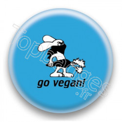 Badge Go Vegan!
