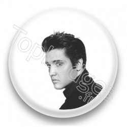 Badge : Chanteur Elvis Presley