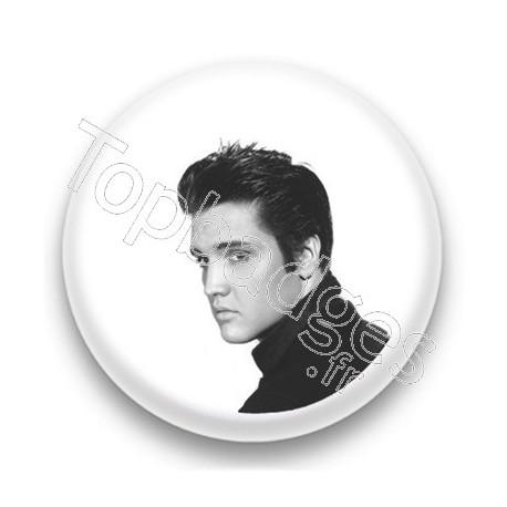 Badge Chanteur Elvis Presley
