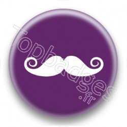 Badge Moustache