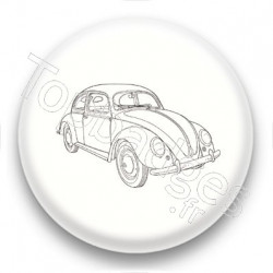 Badge Voiture Coccinelle