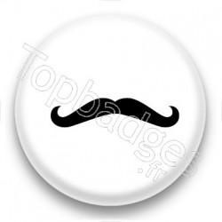 Badge Longue Moustache