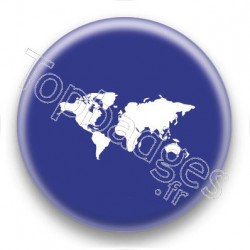 Badge Carte du Monde