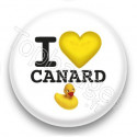 Badge I Love Canard