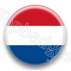 Badge Drapeau Pays Bas