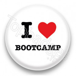Badge I Love Bootcamp