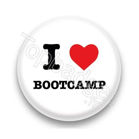 Badge I Love Bootcamp