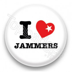 Badge I Love Jammers