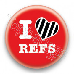 Badge I Love Refs