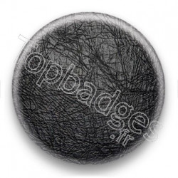 Badge effet cuir