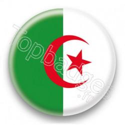 Badge Drapeau Algérie