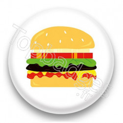 Badge Hamburger