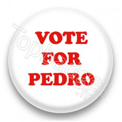 Badge Vote for Pedro