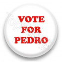 Badge Vote for Pedro