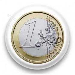 Badge Pièce de 1 euro