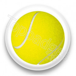 Badge Balle de tennis