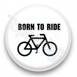 Badge born to ride