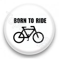 Badge born to ride
