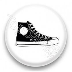 Badge Basket noire