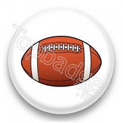 Badge Ballon de rugby