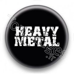 Badge heavy metal
