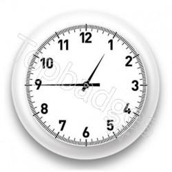 Badge Horloge