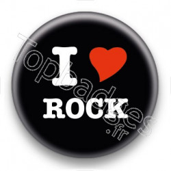 Badge I Love Rock