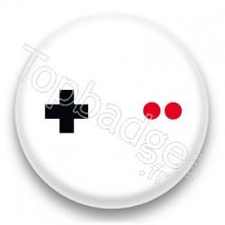 Badge Game Boy Boutons