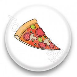 Badge Part de pizza