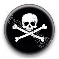 Badge Symbole tête de mort
