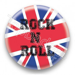 Badge Rock N Roll