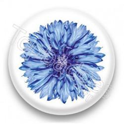 Badge Fleur bleue
