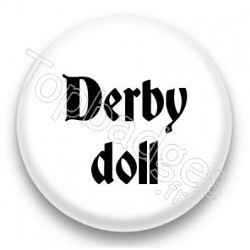 Badge Derby doll