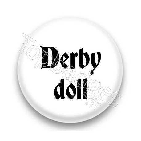 Badge Derby doll