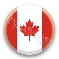 Badge Drapeau Canada