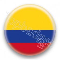 Badge Drapeau Colombie