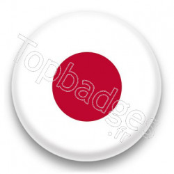 Badge : Drapeau Japon